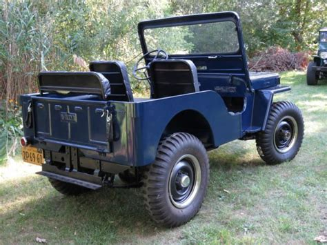 1949 Willys Jeep 1949 Willys Cj3a Jeep Totally Restored For Sale In