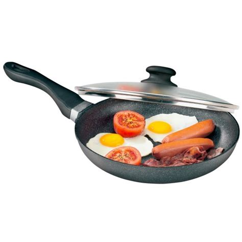 Panci Fry Pan jual bauer marble fry pan and lid 24cm panci anti