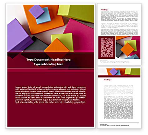 templates for fancy boxes fancy boxes word template 08521 poweredtemplate com