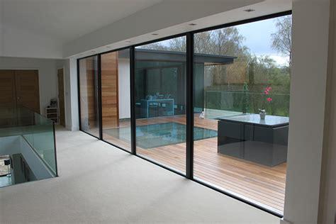 French Kitchen Design contemporary aluminium windows amp bifoldsin headley berkshire