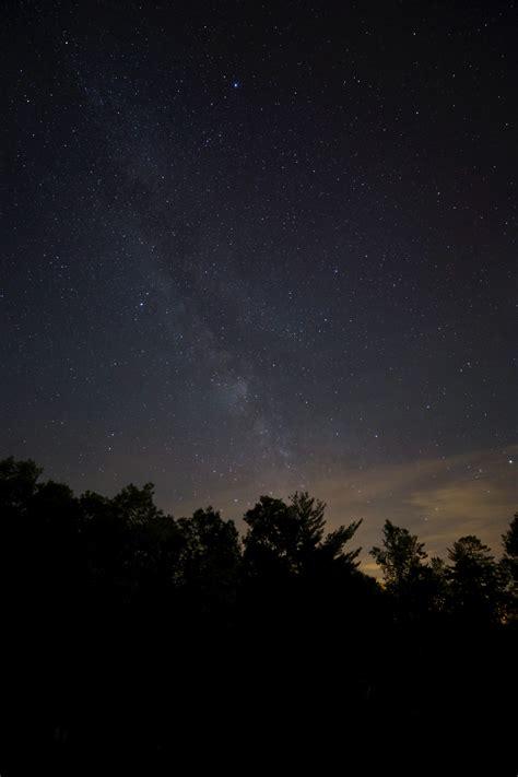 stock photo  dark galaxy milky