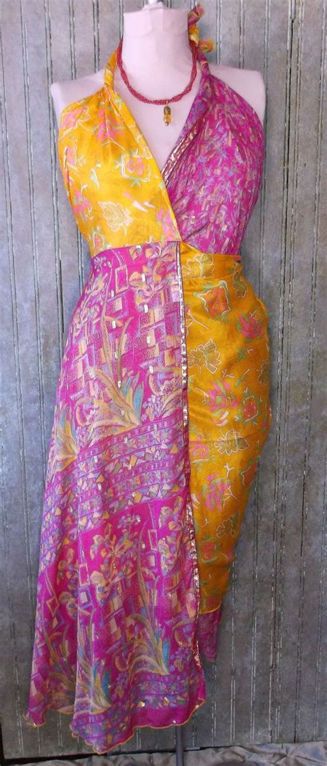 sari silk wraps on pinterest wrap skirts saris and silk reserve for sunshine 34 quot silk wrap skirt made from vintage