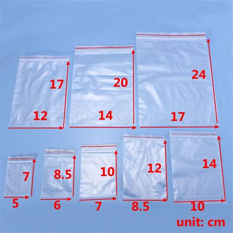 pattern zip lock bags 100pcs plastic ziplock zip lock resealable food medicine