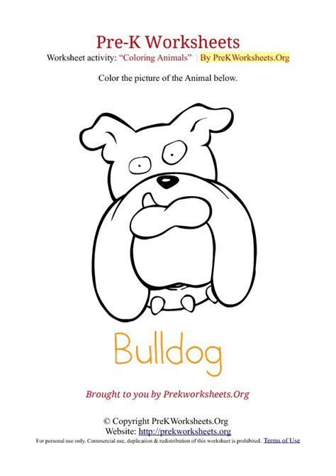 Worksheets For Pre K by Alphabet Animal Crafts To Color For Pre K