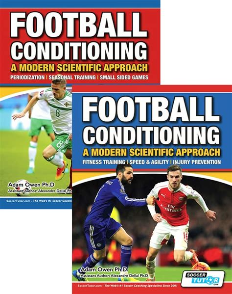 age of agility books football conditioning a modern scientific approach 2 book set