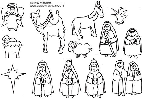 coloring pages photo preschool nativity coloring pages