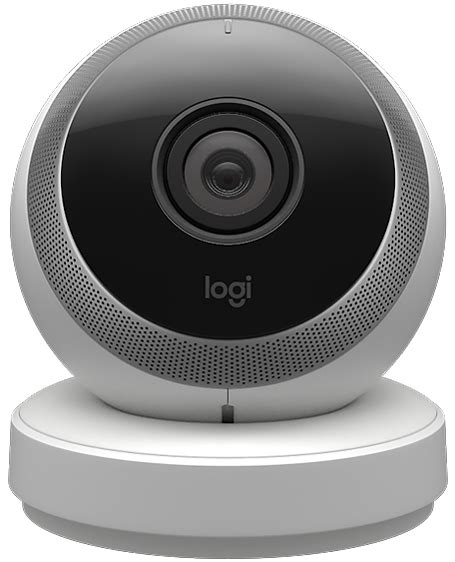 logitech circle home monitoring and connection