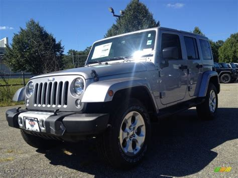 2015 jeep colors 2015 billet silver metallic jeep wrangler unlimited