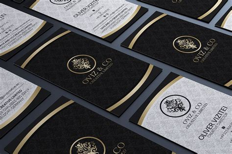 black and gold business card templates free gold and black business card business card templates on