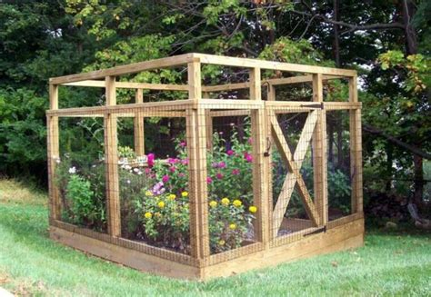 Vegetable Garden Fence Plans Backyard Vegetable Garden Garden Enclosure Ideas
