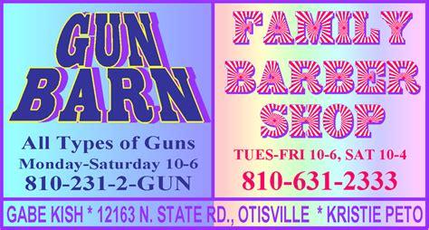 Gun Barn Otisville Mi millington herald