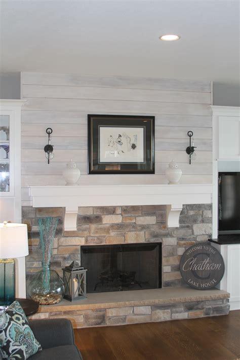 great room  shiplap  stone fireplace anthony