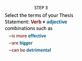 Image result for what is the definition of thesis in literary terms