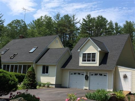 new heights roofing gaf charcoal black shingles metal in valleys also black yelp