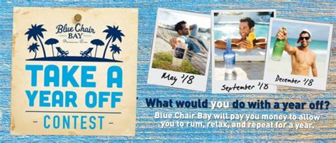 Blue Chair Bay Rum Sweepstakes - sweepstakeslovers daily aquafina greyhound more