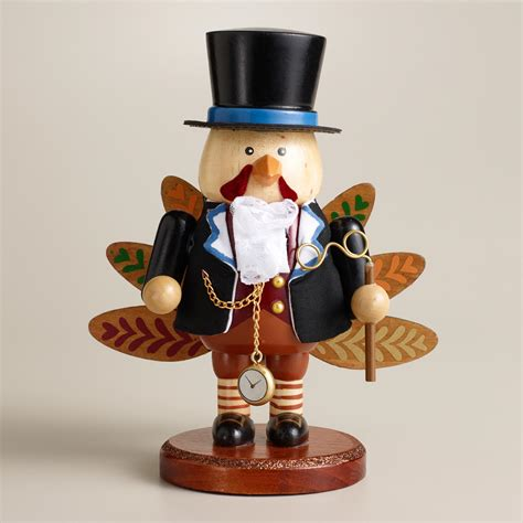 mr turkey wooden nutcracker world market