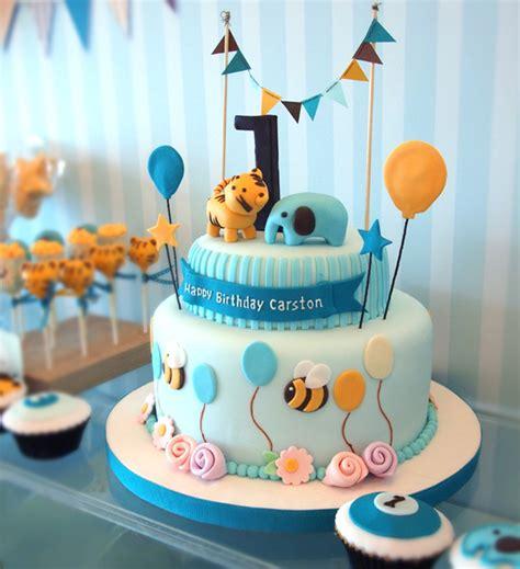 baby boy  birthday cake ideas