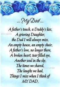 Dad in heaven happy valentines day dad and anniversary poems on