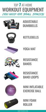 Small Exercise Equipment For Home 7 Best At Home Exercise Equipment For Small Spaces