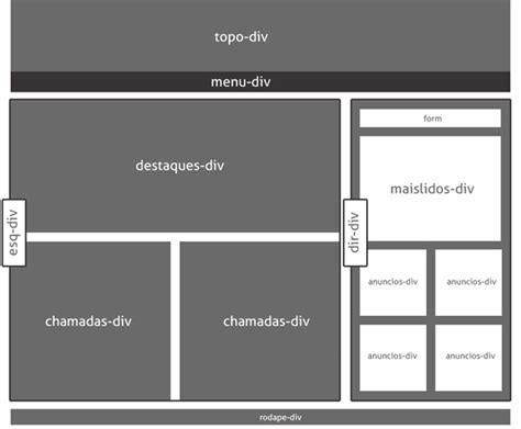 layout html e css css cria 231 227 o de layout webmaster pt