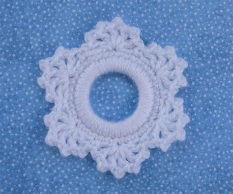 patterns for snowflake wool whiskers wool lacy snowflake ring ornament