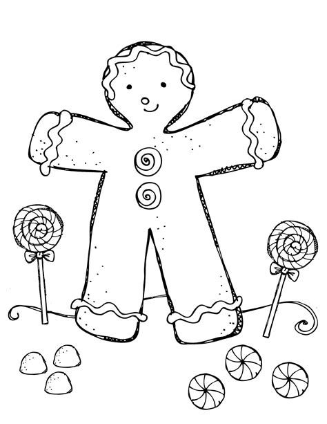 coloring page gingerbread boy gingerbread boy and girl coloring pages az coloring pages