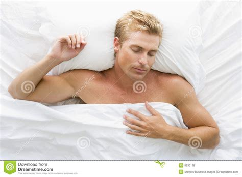 lying or laying in bed man lying in bed royalty free stock photos image 5930178