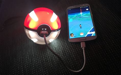 Magic Pokeball Powerbank 10000 Mah magicball powerbank 10000 mah powerbank som ser ut som pok 233 f 246 r alla pok 233 mon j 228 gare