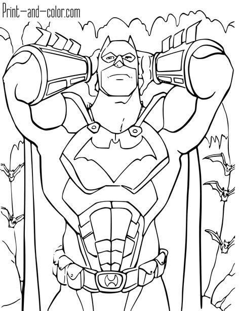 batman coloring pages batman coloring pages print and color