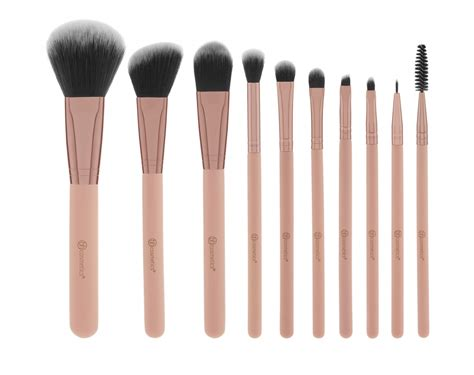Original Bh Cosmetics Change Brush Cleaner bh cosmetics 10 teiliges pinselset pretty in pink 10 brush set with cosmetic bag