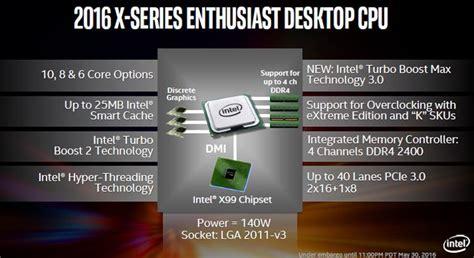 Pch Core - core i7 6950x 6900k 6850k 6800k processor review intel x99 pch chipset