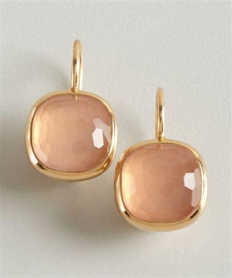 pomellato cipria pomellato gold and quartz cipria estate earrings