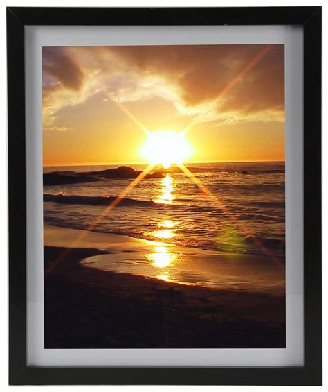 matted photos black picture frame has wood design protective lens