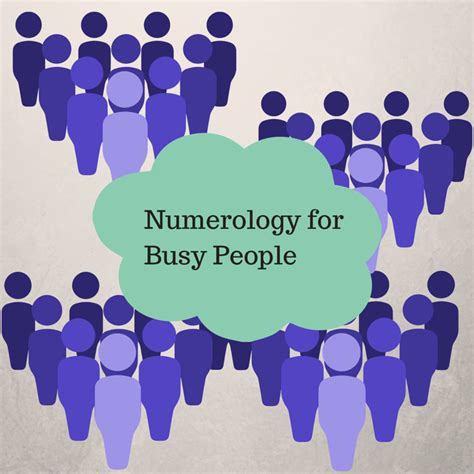 numerology for busy people october 20 26 laura e west