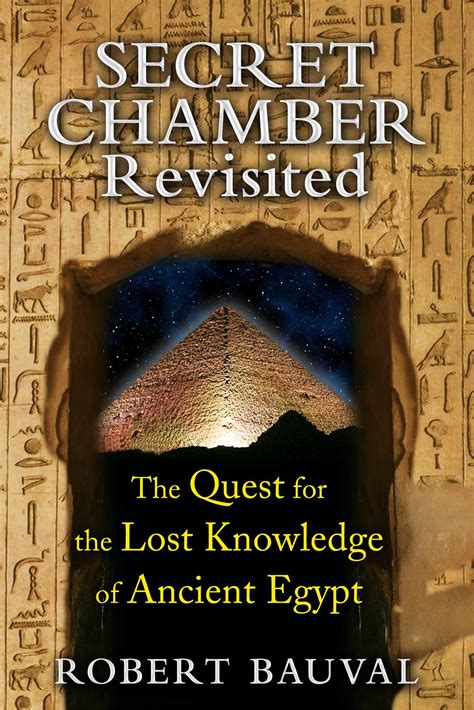 secret chambre secret chamber revisited book by robert bauval