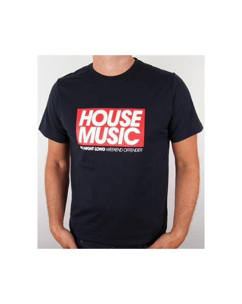 house music t shirt weekend offender mens t shirt white