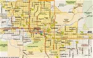 Maps Phoenix by Phoenix Map Online Map