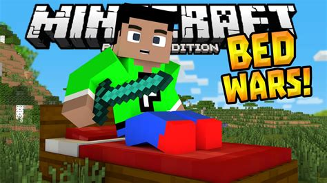 bed wars bed wars minigame in 0 14 1 mcpe minibox server