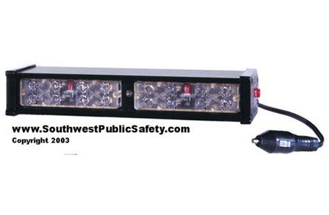 code 3 emergency lights code 3 pse led x dual dash deck light lx2f from swps com