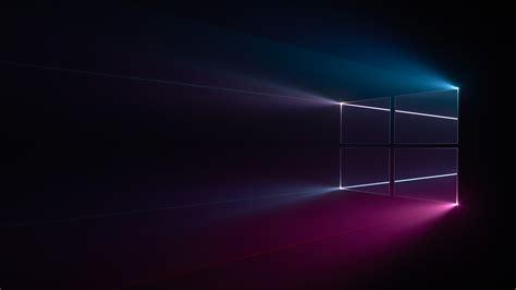 wallpaper dark windows 10 wallpaper windows 10 windows logo blue pink dark hd