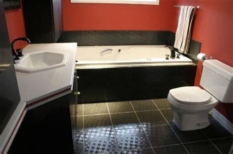 black white and red bathroom decor bathroom decorating ideas black white and red 2017