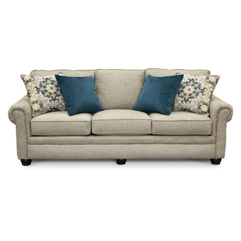 Traditional Sofa Beds casual traditional taupe sofa bed rc willey