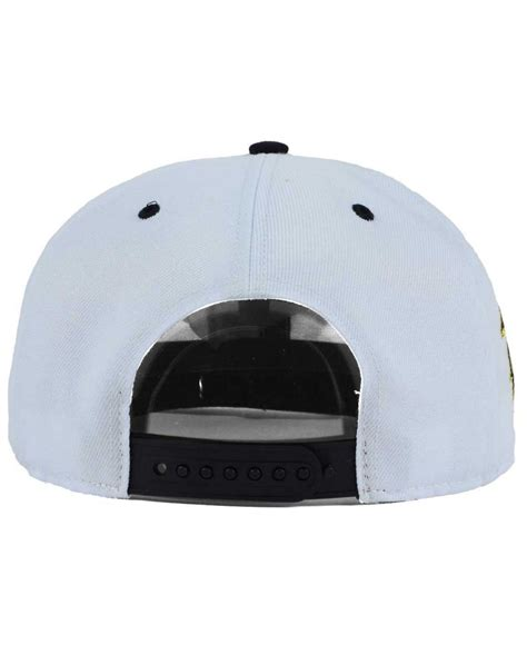 Imported Golden Flat Cap lyst 47 brand chicago white sox gold snapback cap
