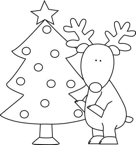 santa claus christmas tree coloring pages coloring pages