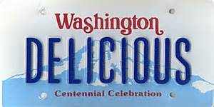 washington state car license plates