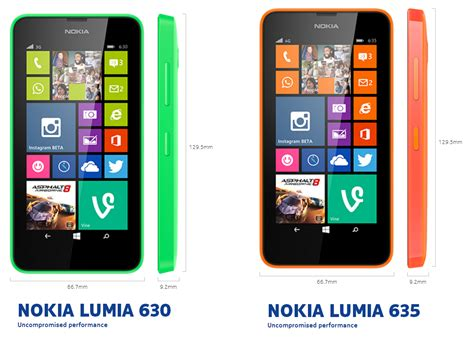 nokia lumia 630 635 lumia 630 y 635 los primeros windows phone 8 1 de bajo costo