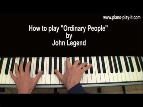 tutorial piano john legend john legend ordinary people piano tutorial vidbb com
