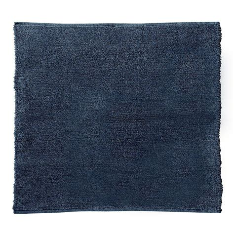 chenille area rug home decorators collection royale chenille blue 6 ft square area rug 3842660310 the home depot
