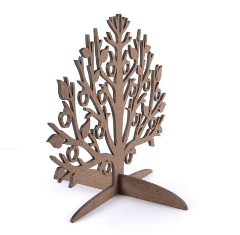 Tree Holder - wooden jewelry tree earring holder jewelry stand