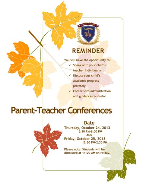 parent conference flyer template parent conference quotes quotesgram